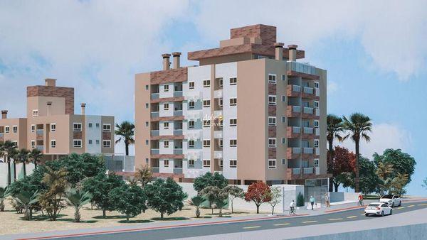 Em construção no Itacorubi - Apartamento Duplex