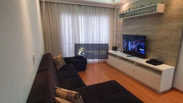 Apartamento 3 dormitórios, 2 vagas, Condomínio fechado, Centro - São Bernardo do Campo