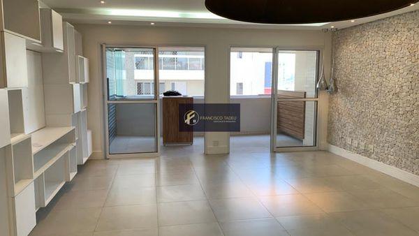 Apartamento para alugar com 3 quartos, sendo 3 suítes, 3 vagas, para alugar - Centro - SBC