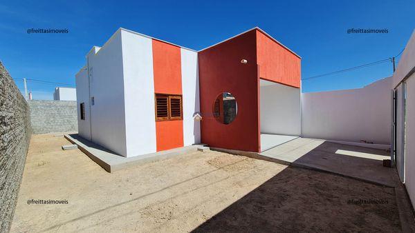 Casa no Pôr do Sol em Mossoró | 2 quartos, 1 banheiro, garagem para dois carros