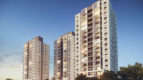 3 Dormitórios   Opção Living Ampliado   02 vagas