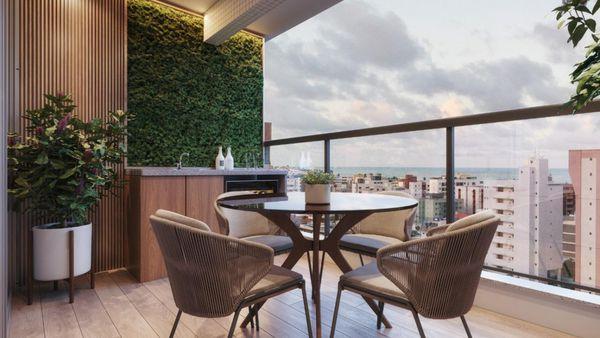 Apartamento em Manaíra, 2 quartos, João Pessoa Paraíba