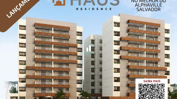 Hous Residence, o melhor 3 suítes no AlphaVille Salvador