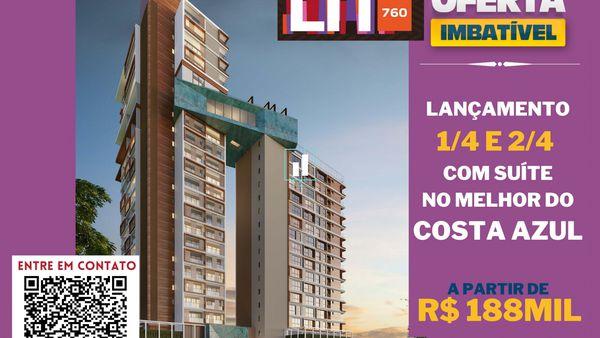 Lançamento LIT 760 no Costa Azul