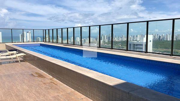 Beach Class Excelsior 206/34M²/01 Quarto/01 Vaga/restaurante interno/sauna/salão de festas