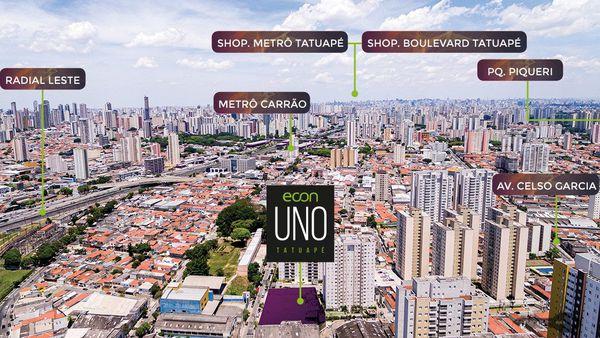 Apartamento 02 Dormitórios - Tatuapé - Ao lado do Metrô Carrão