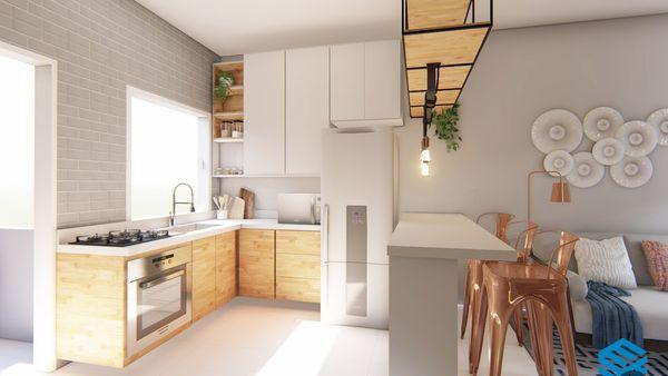 Apartamentos 1 dormitórios com vaga