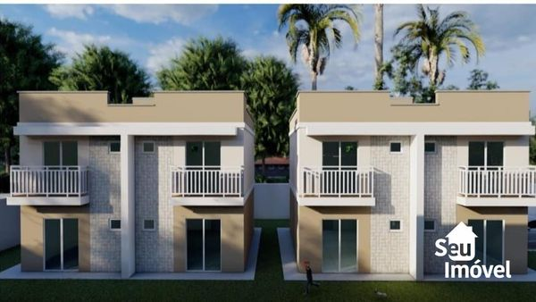 Casa com 2 quartos, 61 m², à venda por R$ 174.000 Jardim Icaraí - Caucaia/CE