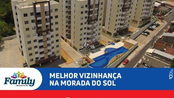 Family Morada do Sol - Apartamentos de 3 dormitórios no bairro Aleixo
