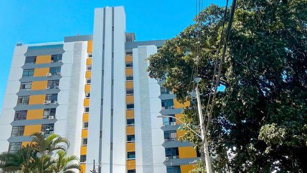 Apartamento 1 quarto no Candeal fundo da ACM