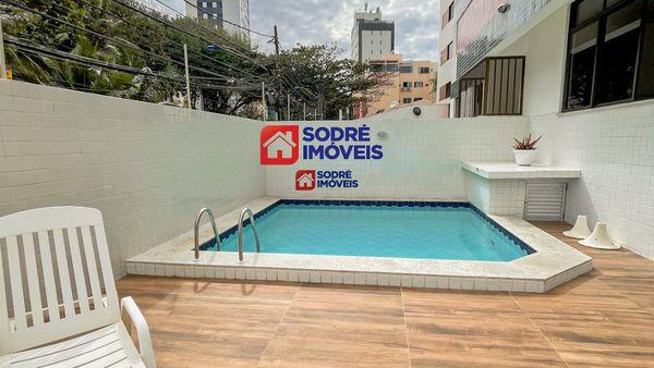 Apartamento no Costa Azul Térreo, com 2 quartos com suíte.