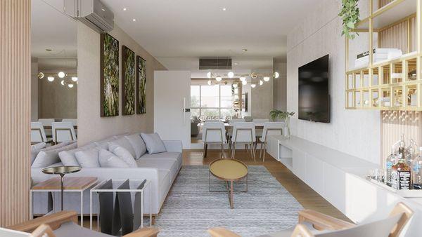Apartamento na Asa Norte, com 3 quartos suítes I 127 m² I 2 vagas
