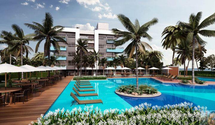 Apartamento na Praia de Formosa, com 2 quartos, Cabedelo, Blue Beach