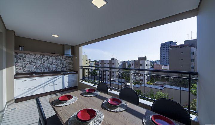 Apartamento Novo com 3 suítes na região do Mangal em Sorocaba-SP