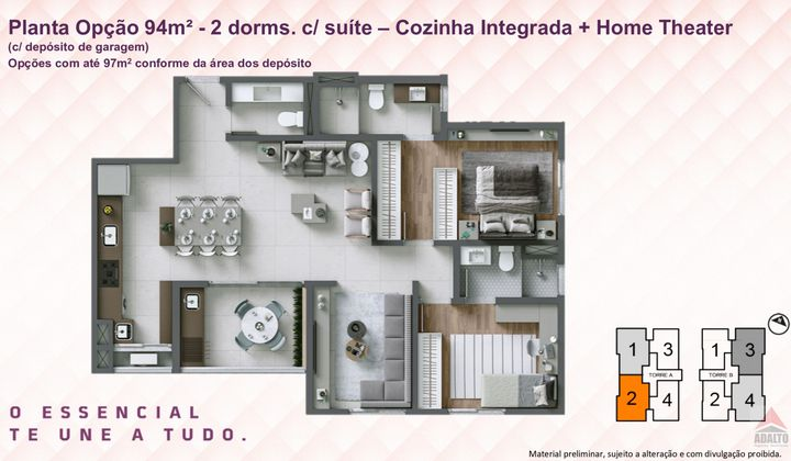 Lançamento Apartamentos na Região do Alto da Boa Vista em Sorocaba-SP.
