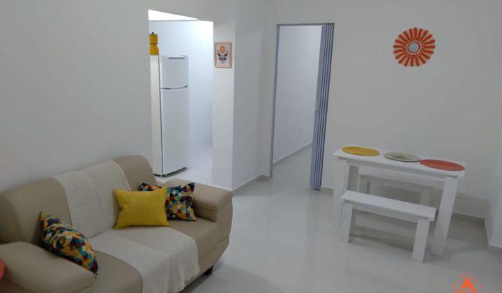 APARTAMENTO 1 DORMITORIO MOBILIADO FRENTE MAR BAIRRO AVIAÇÃO
