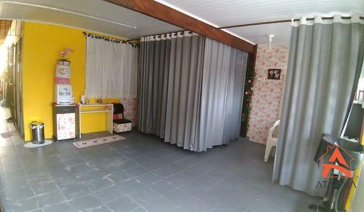 Casa na tupy 2 dormitorios sendo um com suite com espaço para piscina