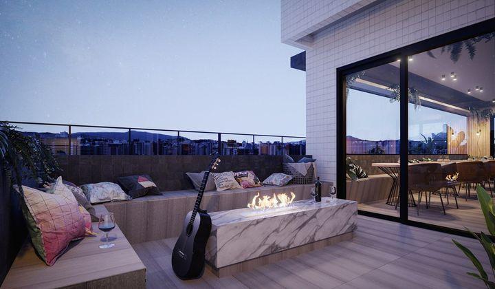 Apartamento 2 Dormitórios,1 Suite, Kobrasol