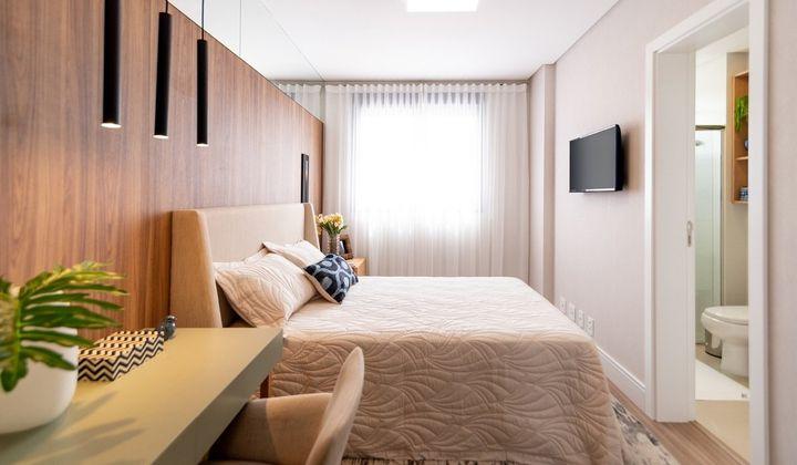 Apartamento 03d e 01s  e 02v na Agronômica