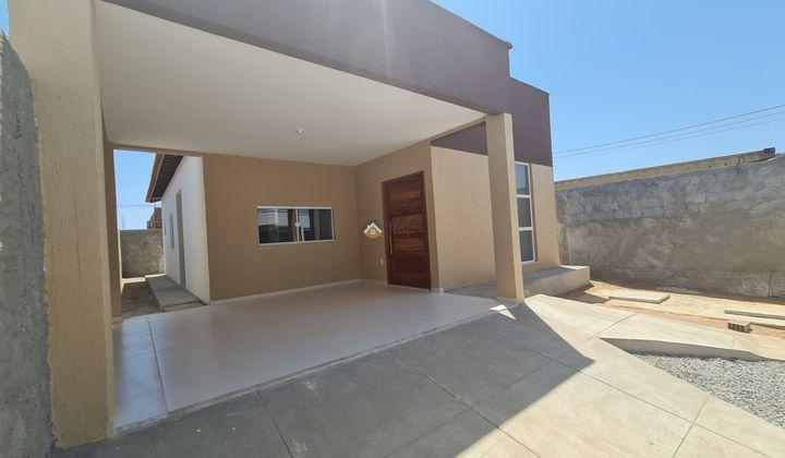 Casa de três quartos no Bela Vista Mossoró