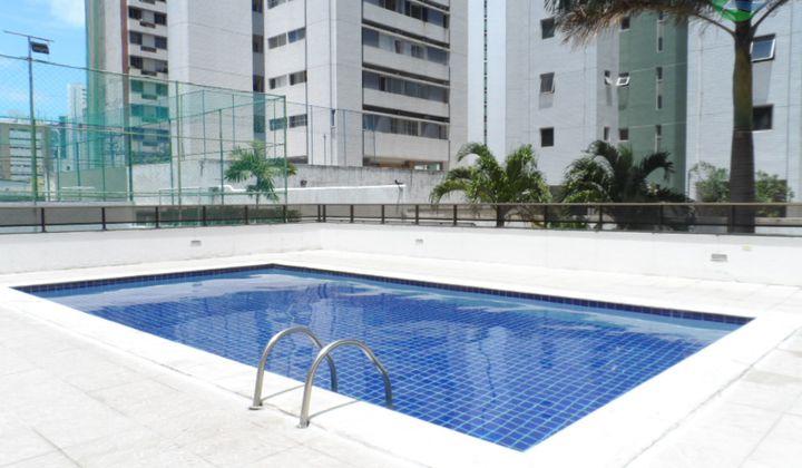 Apartamento 04 Quartos, Nascente, em Piedade, Jaboatão dos Guararapes.