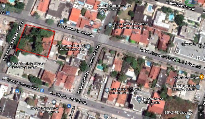 Terreno com 1.466,34 m2 para venda Av. Airton Senna, Piedade. Por R$3,5Mi