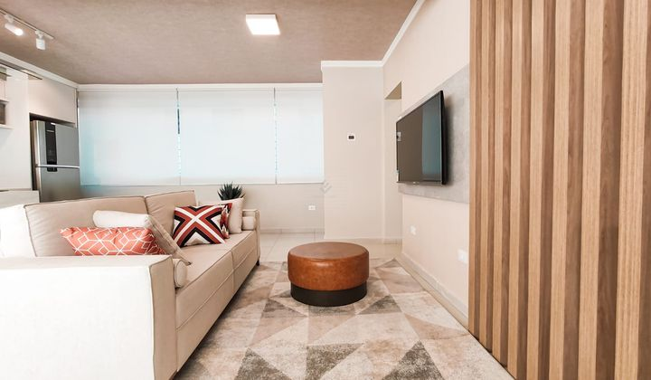 Apartamento de 2 Dormitorio na Vila Guilhermina em Praia Grande