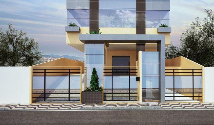 Apartamento de 3 Dormitórios no Canto do Forte em Praia Grande - SP.