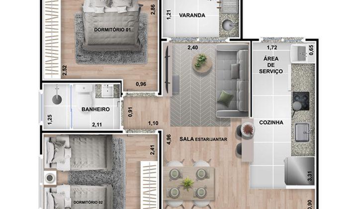 Novitá Residence - Construtora SEGA