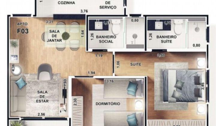 Residencial Novo Horizonte - Lançamento!