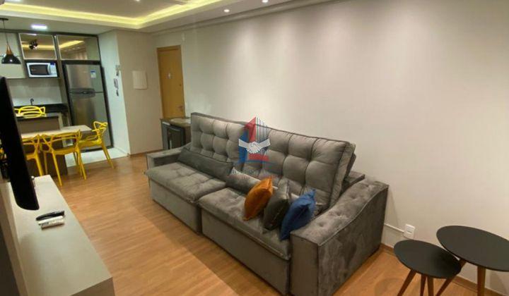 Apartamento Mobiliado com 2 dormitórios- Comfort Club Vila Açoriana