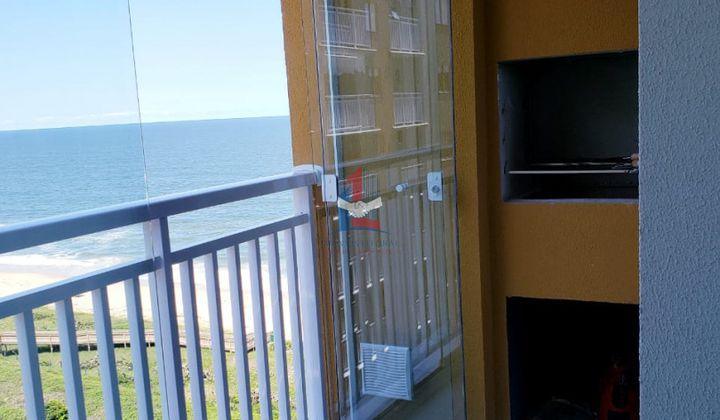 Apartamento mobiliado e linda vista mar