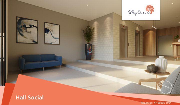 Apartamento com suíte e linda vista mar - Penha SC