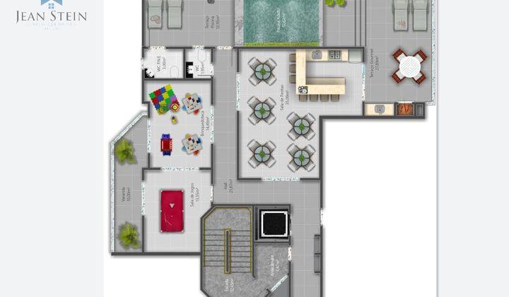 Perequê - Apartamento 2 Suítes 2 Vagas Pertinho da Praia