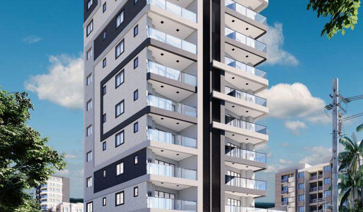 Perequê - Apartamento na Planta 2 Suítes 1 Vaga
