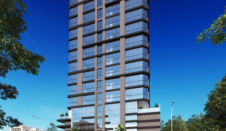 Perequê - Apartamento em Construção - 2 Suítes 2 Vagas Perto do Mar