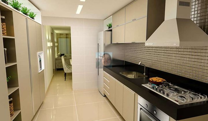 Apartamento à venda na praia de Cabo Branco, com 3 quartos, suíte e 2 vagas de garagem