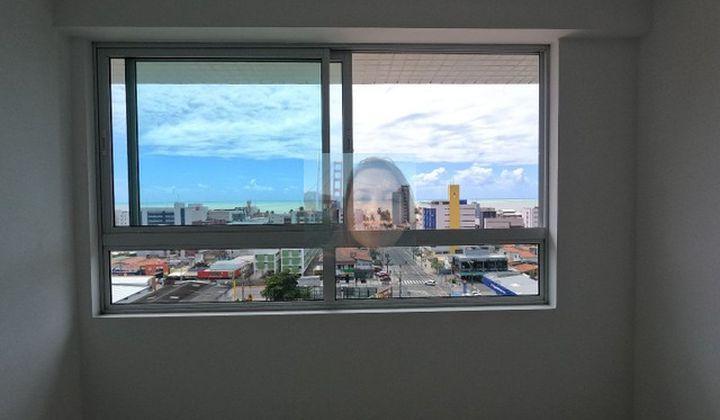Apartamento em Cabo Branco, 2 quartos, suíte, vista mar em João Pessoa