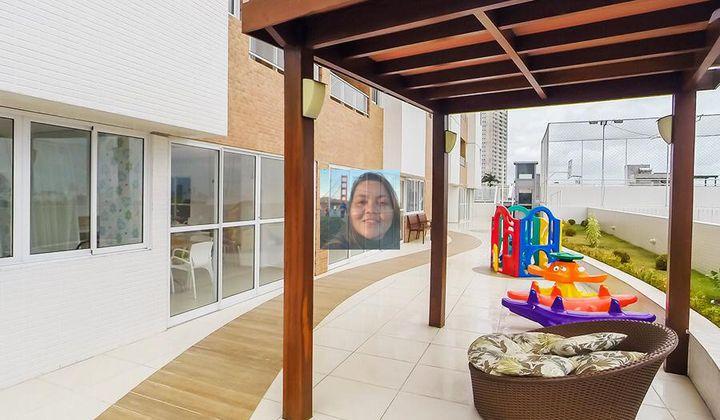 Apartamento em João Pessoa no bairro dos estados, 2 quartos sendo 1 suíte e 2 vagas
