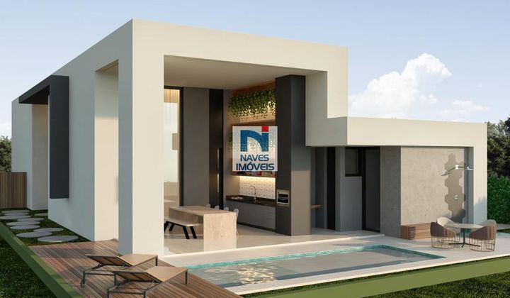 casa nova, 5 quartos, piscina, quadra de tênis, segurança, salão de festas, espaço gourmet