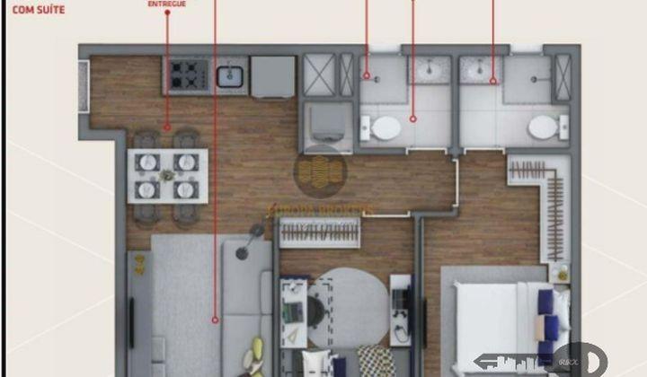Apartamento 2 dormitórios - ao lado do Metrô Brás