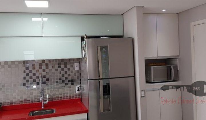 Apartamento 2 dormitórios com sacada - Jardim Santa Barbará
