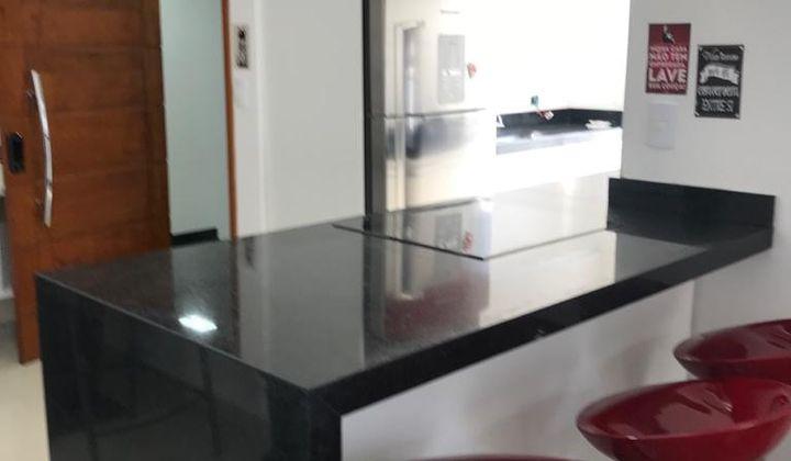 Apartamento , em Santo André , 2 Dormitórios sendo 1 suíte , terraço gourmet com  2 vagas.