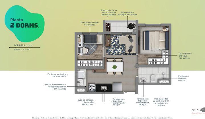 Apartamento na Moóca , com 1 e 2 Dormitórios..