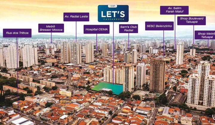 Apartamento na Mooca - Com Opções de  1 e 2 dormitórios com vaga