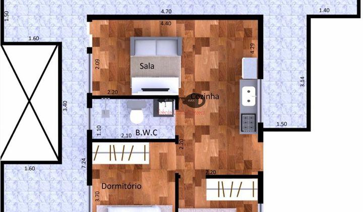 Apartamentos 2 dormitórios - Patriarca