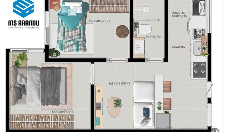 Apartamentos de 2 dormitórios - Cidade Lider