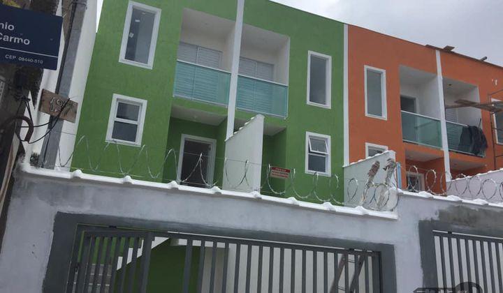 Casa 2 dormitórios - Entrada individual