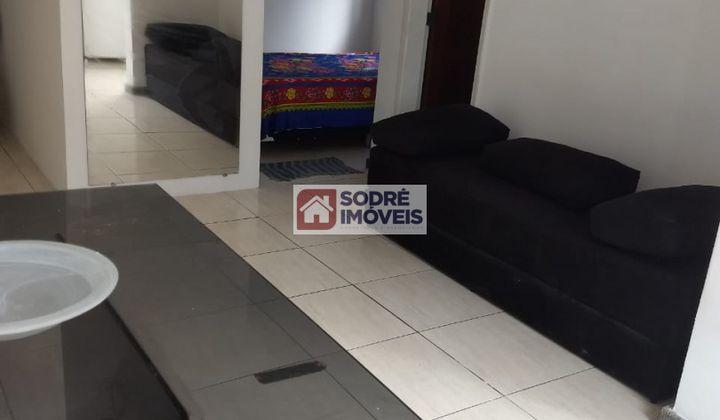 Apartamento semi mobiliado 1 quarto no Costa azul
